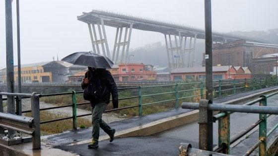Il dossier per Bucci: ponte pronto a fine 2021