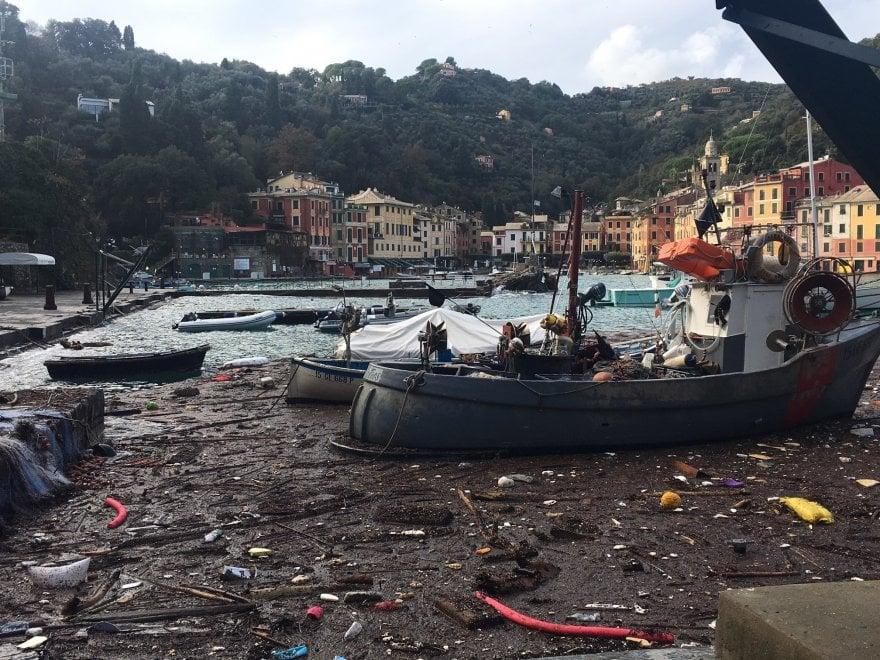 """Portofino isolata, c'è chi si trasferisce per ragioni di lavoro: """"Speriamo solo per pochi mesi"""""""