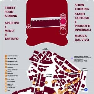 Profumo di tartufo nel centro storico
