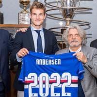 La Samp blinda Andersen: contratto sino al 2022