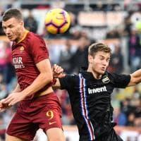 Roma-Sampdoria, il fotoracconto della partita