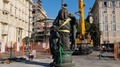 A Carignano arriva la statua dedicata  al duca Raffaele De Ferrari