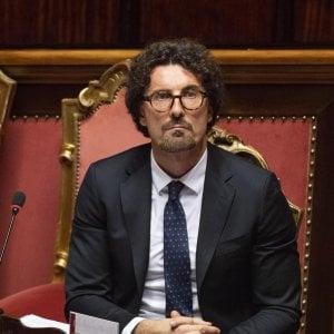"""Toninelli a Toti e Bucci: """"In Liguria e Genova infrastrutture per tornare a livelli prima del crollo"""""""