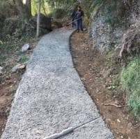Portofino, ecco la strada di cemento nel Parco contestata dagli ambientalisti
