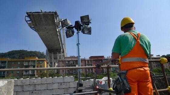 """Autostrade: """"Non potete escluderci dalla ricostruzione del ponte"""""""