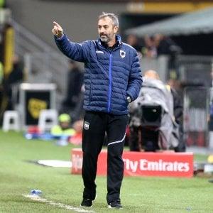 """Giampaolo, Sampdoria: """"La posta in palio è altissima, ma dobbiamo affrontarla come una partita normale"""""""
