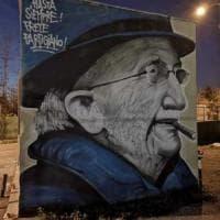 Già restaurato il murale oltraggiato di don Gallo. La Comunità San Benedetto: