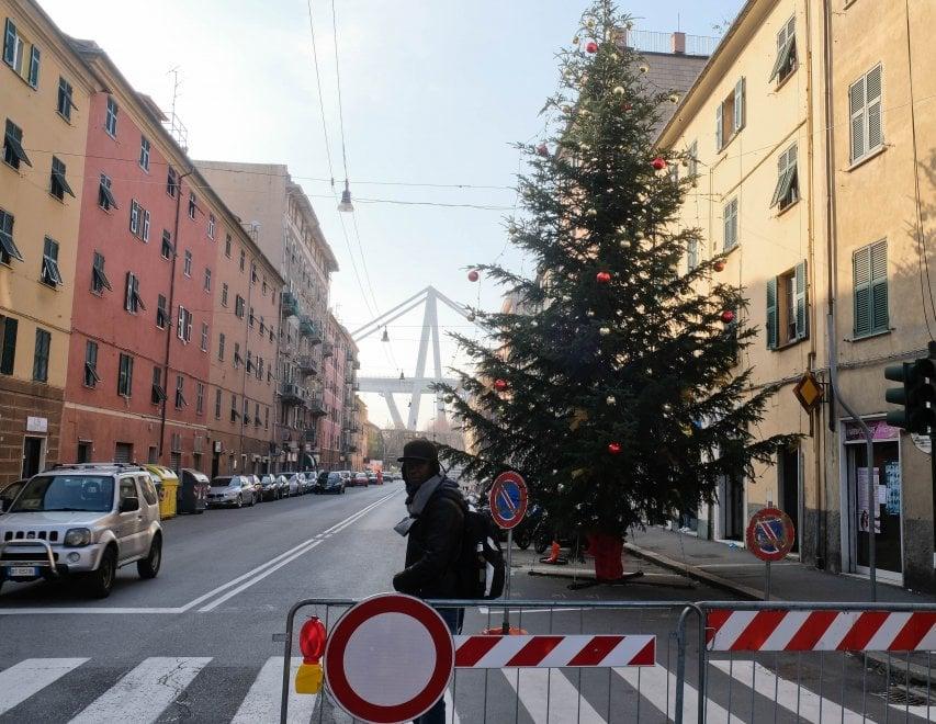 L'albero di Natale a Certosa come a De Ferrari