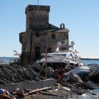 Rapallo, un mese dopo è ancora un cimitero di yacht