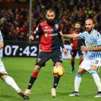 Genoa-Spal le foto della partita