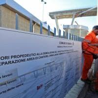 Ponte Morandi, aperto il cantiere ma il viadotto per ora non si tocca
