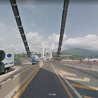 Il ponte Morandi sopravvive in GoogleMaps