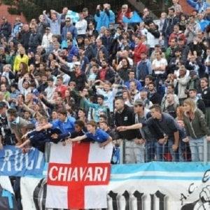 Coppa Italia, oltre 500 tifosi dell'Entella a Roma