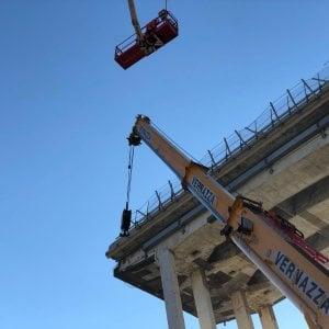 Crollo del ponte, Autostrade studia la sua memoria difensiva