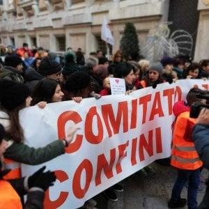 Ponte Morandi, in corteo i cittadini della Valpolcevera esclusi dagli indennizzi