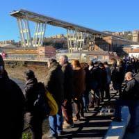 Ponte Morandi, commemorazione a cinque mesi dalla tragedia