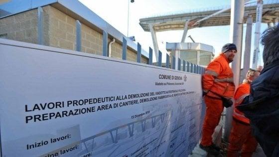Ponte Morandi, la direzione della ricostruzione al Registrio