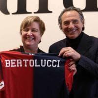 """Prandelli visita la mostra """"Paganini Rock"""" a Palazzo Ducale"""