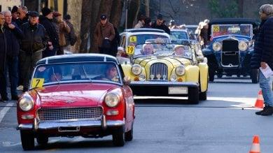 Genova, in Albaro rombo di motori  con la sfilata delle auto storiche