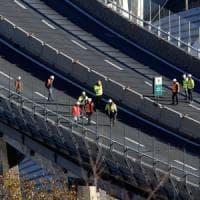Ponte  incognita neve su demolizione, domani riunione