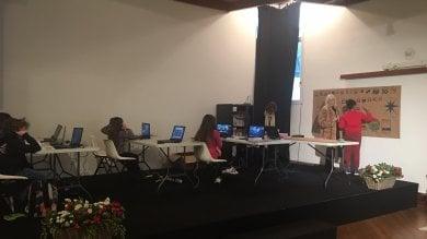 Portofino, a scuola in teleconferenza grazie all'aula multimediale