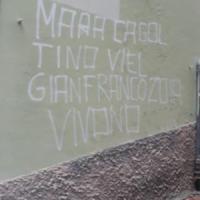 Scritte e insulti contro Guido Rossa trovate a Genova