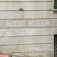 Scritte contro Guido Rossa a Genova, identificati gli autori