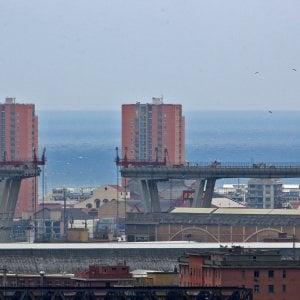 "Ponte Genova: riunita la ""Commissione Esplosivi"" per la pila 8"