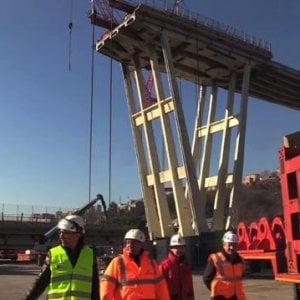 Ponte Morandi: posizionate le centraline per il controllo di aria e rumore