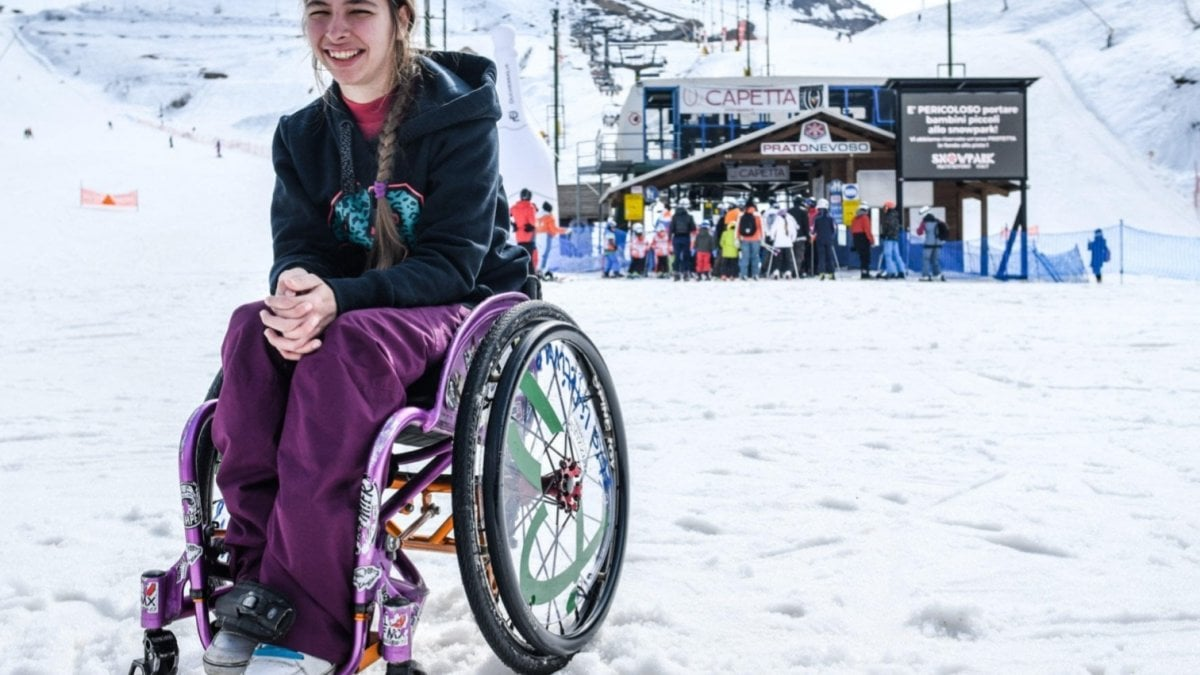 Ilaria, da Varazze a Pratonevoso per il record mondiale di