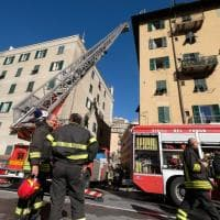 Incendio in un appartamento a Marassi, tre bambini intossicati