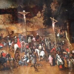 """Il furto del falso Bruegel, il parroco di Castelnuovo Magra: """"Quei ladri peggio della banda Bassotti"""""""