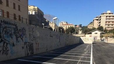 Aperto il nuovo parcheggio di interscambio in via Opisso a Pegli