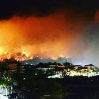 Incendio Cogoleto, a fuoco le colline di Capieso: sequestrato un cavo Enel. Domani le...