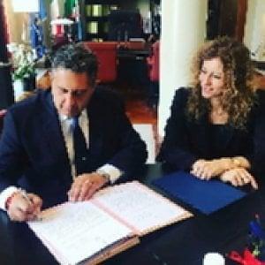 Autonomia, Toti consegna la richiesta della Liguria alla ministra Stefani