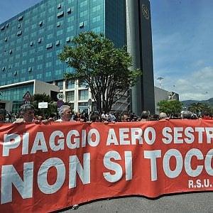 Piaggio Aero: dal 2 maggio 504 in cassa integrazione