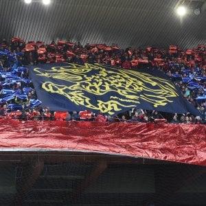 Genoa, stadio vuoto e niente striscioni contro il Torino