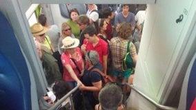 Cinque Terre, primi test per i treni  dei turisti   di FRANCESCO LA SPINA