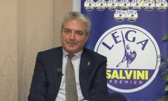 Tour elettorale della Lega a Genova con esponenti di estrema destra