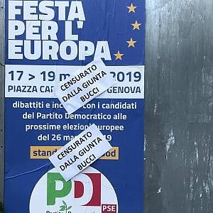 super popular c9a96 28174 Il Comune blocca la Festa per l'Europa a Caricamento, il Pd ...