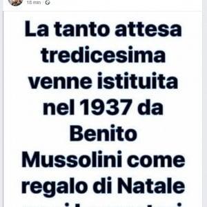 Post su Mussolini, presidente di Municipio indagato
