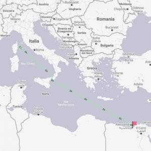 La nave delle armi ha lasciato Genova, direzione Egitto