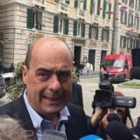Zingaretti a Genova: