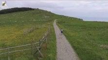 Quattrocento chilometri di corsa in otto tappe  su e giù per i monti liguri