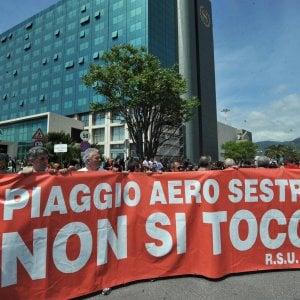Piaggio Aero, firmato il decreto per 1021 lavoratori