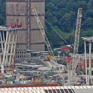 Ponte Morandi: ispezione della Dia ai cantieri