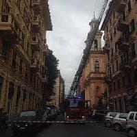 A Genova incendio in un appartamento di via Caffa