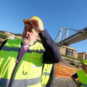"""Ponte Morandi, Bucci: """"Esplosioni il 27 o il 28 giugno"""""""