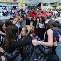 Il primo giorno degli esami di Maturità a Genova