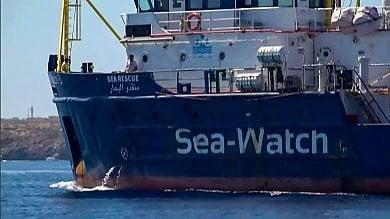 I portuali di Genova pronti ad accogliere la Sea Watch